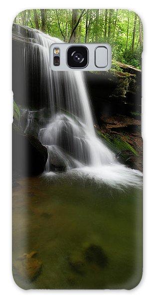 Otter Falls - Seven Devils, North Carolina Galaxy Case