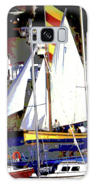 Oyster Boats Galaxy Case