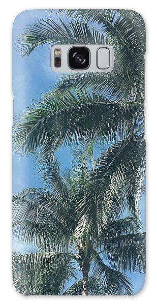 Palm Trees Galaxy Case