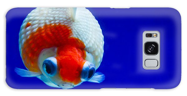 Pearl Scale Goldfish Galaxy Case