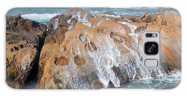 Point Lobos Concretions Galaxy Case