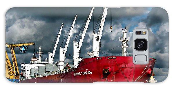 Port Of Amsterdam Galaxy Case