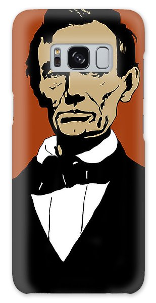 Abraham Lincoln Galaxy S8 Case - President Lincoln by War Is Hell Store