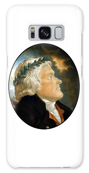 Thomas Jefferson Galaxy Case - President Thomas Jefferson - Two by War Is Hell Store