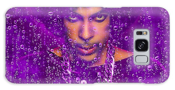 Prince Purple Rain Tribute Galaxy Case