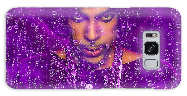 Prince Purple Rain Tribute Galaxy Case by Marvin Blaine