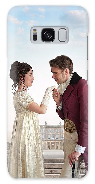 Regency Couple  Galaxy Case by Lee Avison