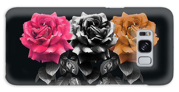 3 Roses Galaxy Case