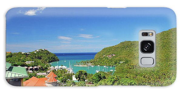 Galaxy Case featuring the photograph Saint Lucia by Gary Wonning