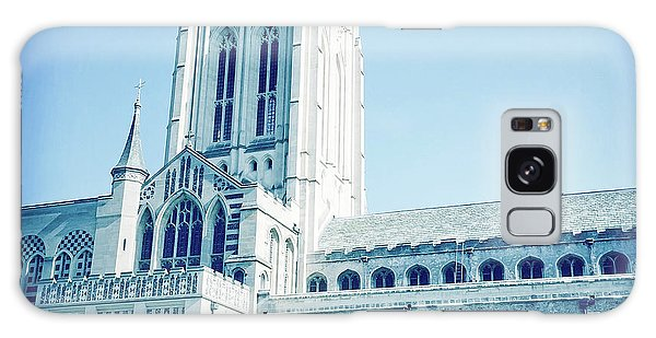 Bury St Edmunds Galaxy Case - St Edmundsbury Cathedral by Tom Gowanlock