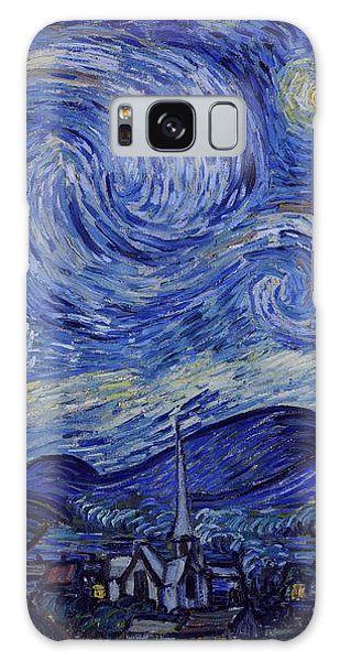 Galaxy Case featuring the painting Starry Night by Van Gogh