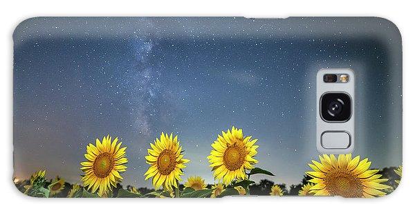 Sunflower Galaxy Iv Galaxy Case