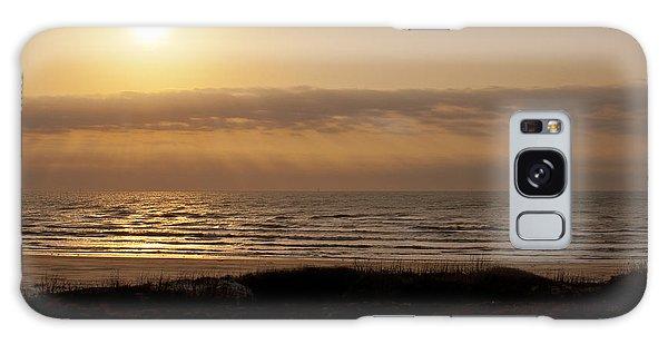 Sunrise At Beach Galaxy Case
