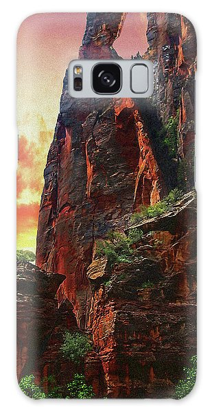 Sunrise In Canyonlands Galaxy Case