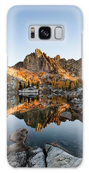 Sunrise In The Enchantments Galaxy Case