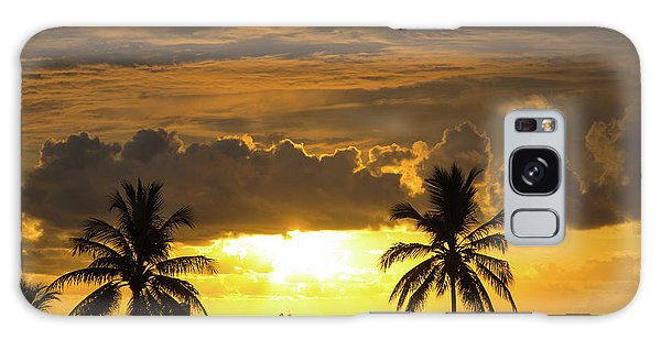 Sunrise Miami Beach Galaxy Case