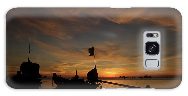 Sunrise On Koh Tao Island In Thailand Galaxy Case by Tamara Sushko