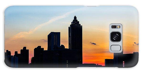 Sunset In Atlanta Galaxy Case