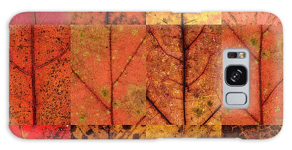 Swatches - Autumn Leaves Inspired By Gerhard Richter Galaxy Case