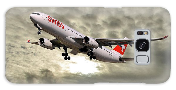 Jet Galaxy Case - Swiss Airbus A330-343 by Smart Aviation