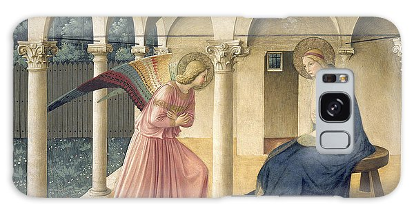 New Testament Galaxy Case - The Annunciation by Fra Angelico