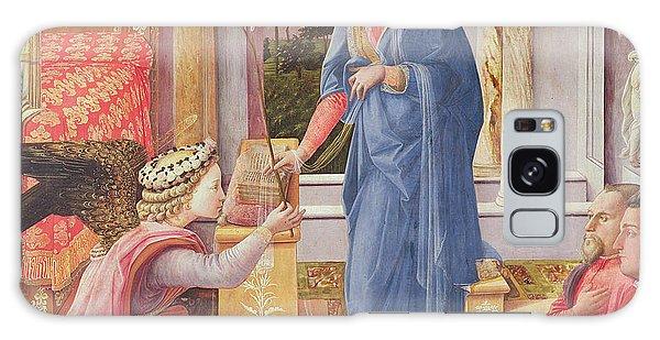Annunciation Galaxy Case - The Annunciation by Fra Filippo Lippi