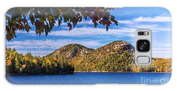 The Bubbles And Jordan Pond. Galaxy Case