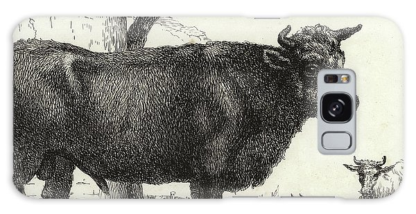 The Bull Galaxy Case by Paulus Potter
