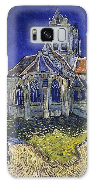 The Church At Auvers Galaxy Case