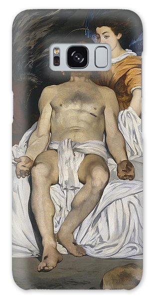 Pieta Galaxy Case - The Dead Christ With Angels by Edouard Manet
