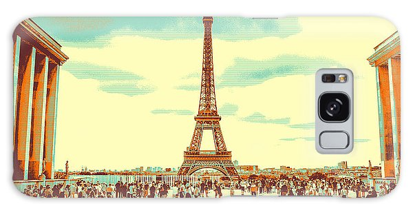 The Eiffel Tower Galaxy Case