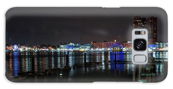 Galaxy Case featuring the photograph The Harbor View by Mark Dodd