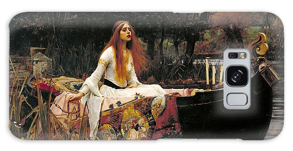 Tapestry Galaxy Case - The Lady Of Shalott by John William Waterhouse