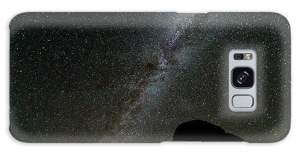 Galaxy Case featuring the photograph The Milky Way by Jim Thompson