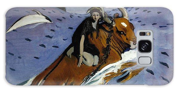 Russian Impressionism Galaxy Case - The Rape Of Europa by Valentin Serov