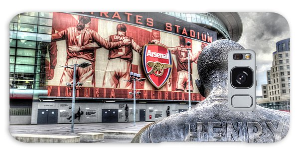 Thierry Henry Statue Emirates Stadium Galaxy Case