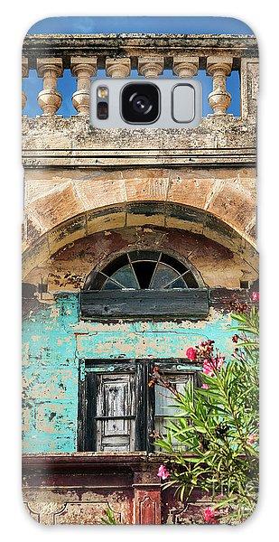 Traditional Mediterranean Maltese House Exterior Detail In Gozo  Galaxy Case