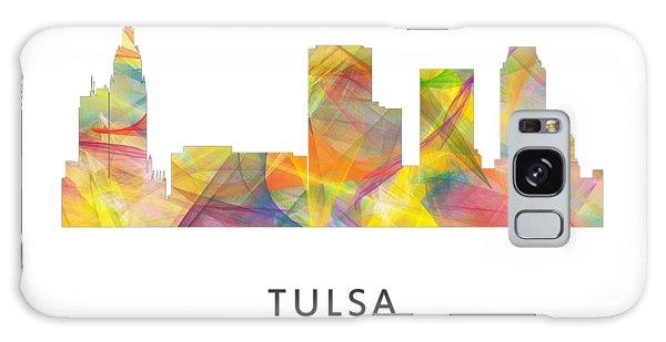 Ok Galaxy Case - Tulsa Oklahoma Skyline by Marlene Watson
