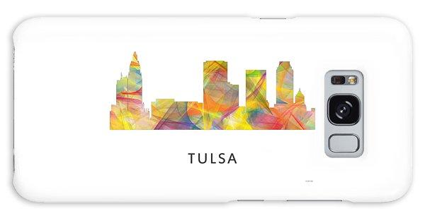 Tulsa Oklahoma Skyline Galaxy Case