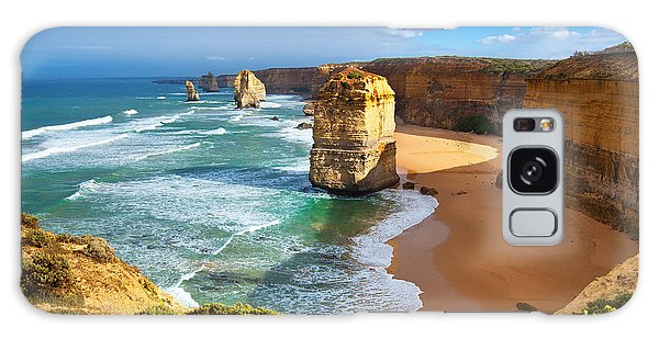 Twelve Apostles Great Ocean Road Galaxy Case by Bill  Robinson