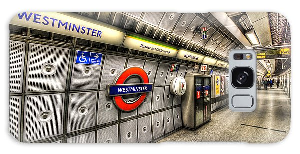 Underground London Galaxy Case by David Pyatt