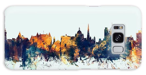 Victoria Galaxy Case - Victoria Canada Skyline by Michael Tompsett