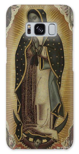Central America Galaxy Case - Virgin Of Guadalupe by Manuel de Arellano