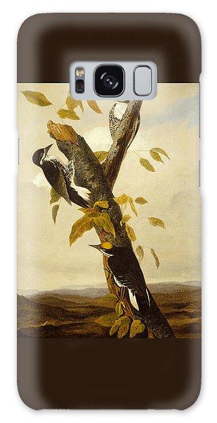 Woodpeckers Galaxy Case