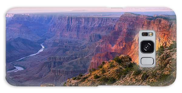 Horizontal Galaxy Case - Canyon Glow by Mikes Nature
