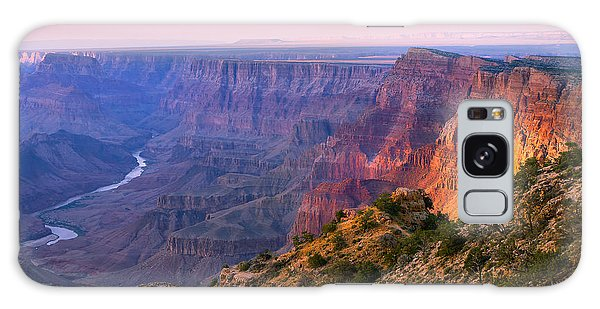 Pine Branch Galaxy Case - Canyon Glow by Mikes Nature
