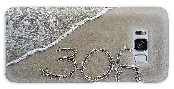 Galaxy Case - 30a Beach by Megan Cohen