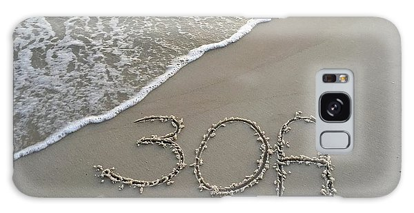 30a Beach Galaxy Case by Megan Cohen