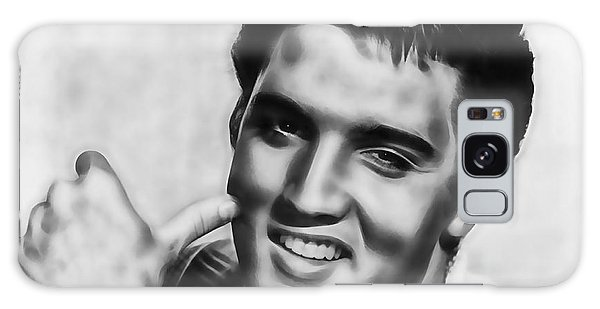 Elvis Presley Collection Galaxy Case by Marvin Blaine