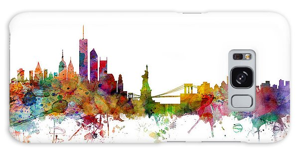 Apple Galaxy S8 Case - New York Skyline by Michael Tompsett